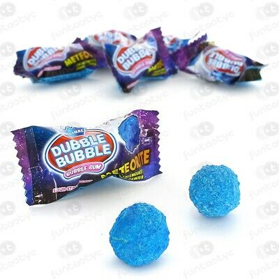 Chicle Dubble Meteorite Pintalenguas Estuche 200 Chicles Pintalenguas Fresa