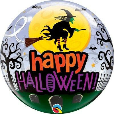 GLOBO BUBBLE TRANSPARENTE HALLOWEEN 1 GLOBO 55.8cm 22""