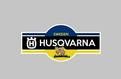 Husqvarna Motorcycle Sticker Badge tank Fairing Chainsaw lawnmower garden tools