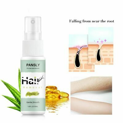 Hair removal spray Whole body gentle moisturizing hair removal