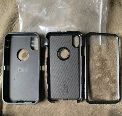 OtterBox Defender Series Screenless Case for Apple iPhone XS Max Black