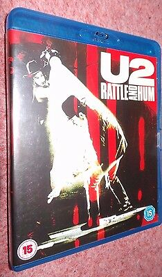 U2 Rattle And Hum - A Concert Movie - Genuine Rare UK BLU-RAY
