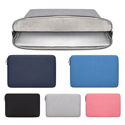 Shockproof Laptop Notebook Sleeve Case Bag Pouch Cover For MacBook Air/Pro Acces