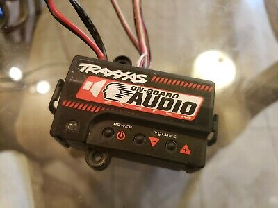 NEW TRAXXAS SLASH On Board Audio Sound System With Module & Speakers on