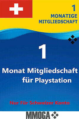 PlayStation Plus - PlayStation Network 30 Tage (1 Monat) PSN CODE [Sony] [CH]*