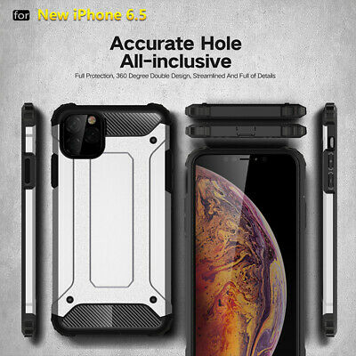 "New For iPhone 11 5.8 6.1 6.5"" XS Max Xr X 7 8 6s Armor Rugged Hybrid Hard Case"