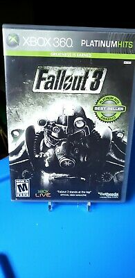 Fallout 3 (Microsoft Xbox 360, 2008) Complete, Tested and working