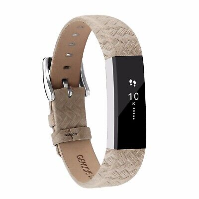 Goosehill Genuine Leather Replacement Straps for Fitbit Alta and Alta HR Band