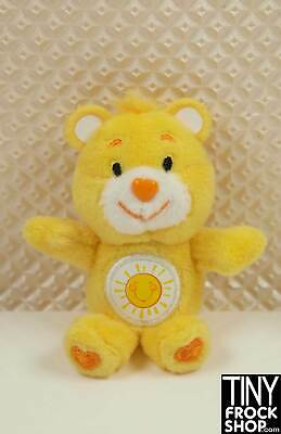 Barbie Worlds Smallest Plush Care Bear - New in Package Funshine