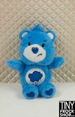Barbie Worlds Smallest Plush Care Bear - New in Package Grumpy