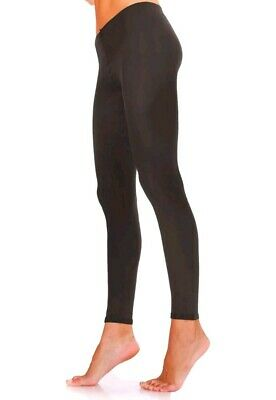 M/&S 1 Pr 60 Denier Opaque Footless Tights MEDIUM Black BNWT