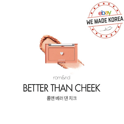 ROM&ND Better Than Cheek MCBB Blush 4g 5color Official K-Beauty Authentic Goods