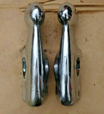 1946 1947 1948 Chrysler BUMPER GUARDS Original Pair left right