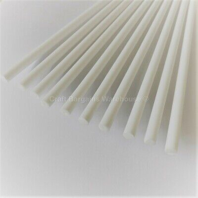"10 x 8"" CAKE DOWELS Dowel Rods Support Tiered Cakes Wedding Sugarcraft"