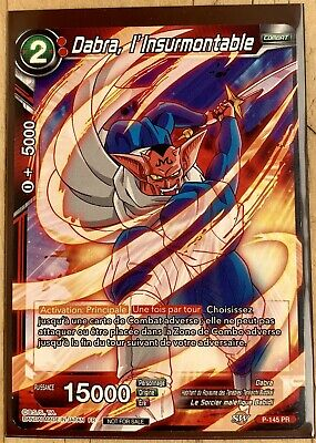 Carte Dragon ball Super Card Game Dabra L'insurmontable P-145 Pr Promo DBS