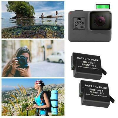 Original 1220mAh Battery or Dual charger For Gopro A GoPro Black 6 Hero I9F L4V9