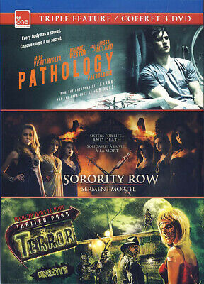 Pathology / Sorority Row / Trailer Park Of Terror (Triple Feature)(Bilingu (Dvd)