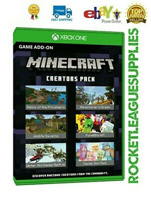 Minecraft Creators Pack Download Code DLC Add On for Xbox One (Worldwide)