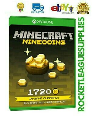 Minecraft 1720 Minecoins Download Code DLC Add On for Xbox One (Worldwide)