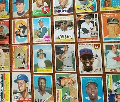 1949-1959 Topps / Bowman Single Baseball Cards. You Pick From Menu.