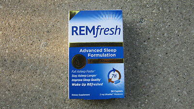 REMfresh Clinically Tested Advanced Sleep Formulation 7 hr Absorption 36 Caplets