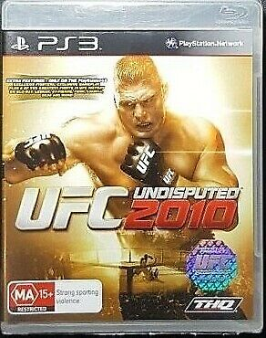 UFC UNDISPUTED 2010 Playstation 3 PS3 GAME PAL