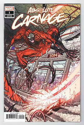 Absolute Carnage #1 Nick Bradshaw 1:50 Variant Marvel Comics Venom Donny Cates