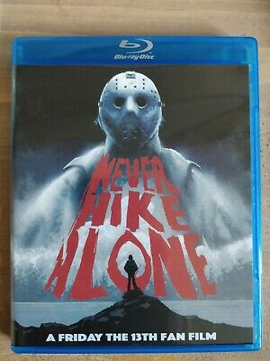 NEVER HIKE ALONE Friday the 13th Fan Film Blu-ray SIGNED
