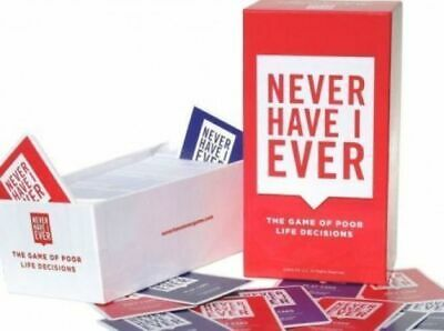 Never Have I Ever - Party Game Cards Adult Entertainment Board Games Gift