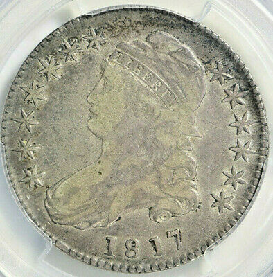 1817 Capped Bust Half Dollar Pcgs Vf-20 Sharp 202 Year Old Problem Free Coin