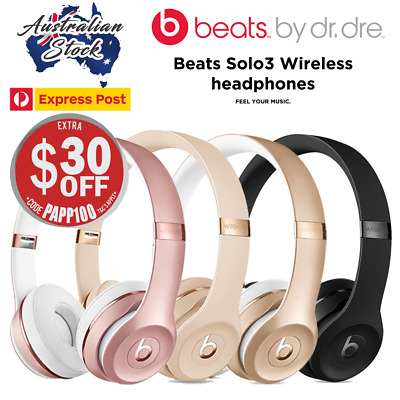 Brand New Beats by Dre Solo3 Wireless On-Ear Headphones - In Box - Express