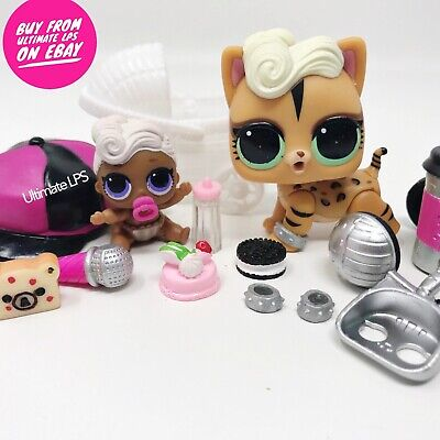LOL SURPRISE Dolls Lil Funky QT Color Changer & Funky Kitty * US SELLER * NEW
