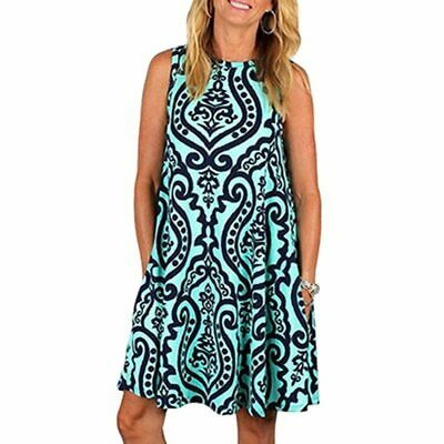 Maternity Dress Casual Comfy Clothes For Women's Pregnancy Sleeveless Daily Wear