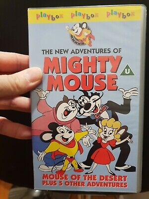 The New Adventures Of Mighty Mouse Vhs