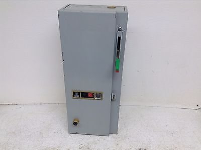GE General Electric CR208 CR208C100DYA4 Size 1 Combination Starter CR208C100