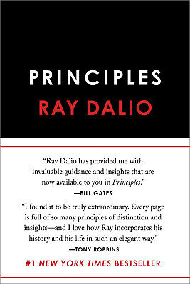 NEW Principles Life and Work by Ray Dalio (9781501124020)