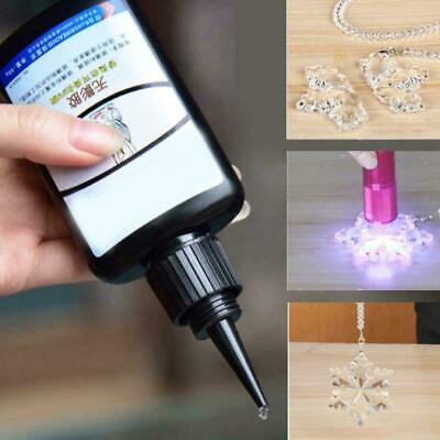 50ml K-300 UV Glue Curing Laser Glass Bonding Adhesive Shadowless Area Larg Z9N6