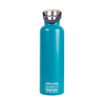 750ML TEAL 360 Degrees Vacuum Insulated Drink Bottle