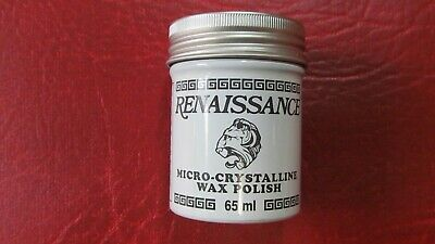 65ml Renaissance Micro-Crystalline Wax Polish Antiques, Silver, Coins