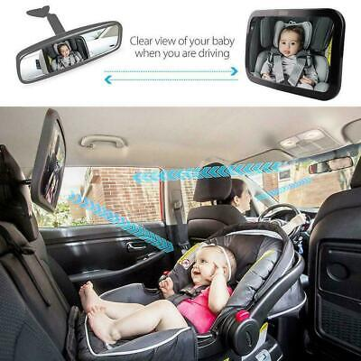 Baby Car Seat Rear View Mirror Facing Back Infant Child Toddler Ward Safety C4P0