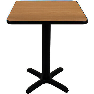 Canteen Table Kit Diy Column Crossbar Base Double Sided Tabletop Dining Cafe New