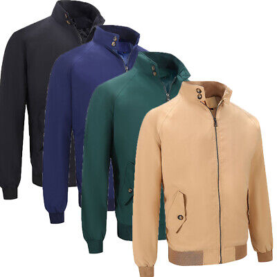 UK Men's Classic Softshell Jacket Wind Resistant Warm Long Sleeve Tops Coat New