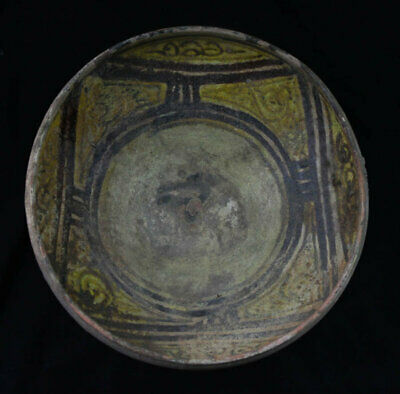*SC* FINE ISLAMIC POTTERY BOWL, WESTERN ASIAN, ca. 11th. century AD!