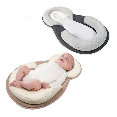 JJOVCE Baby Correction Anti-head Pillow Side Sleeping Cushion Positioning AU New
