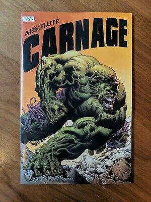 Absolute Carnage #1 Kyle Hotz Connecting Variant Cover E Marvel 2019 NM