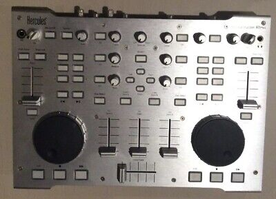 Hercules DJ Console Rmx DJ Controller With 4-in/4-out Adio Interface