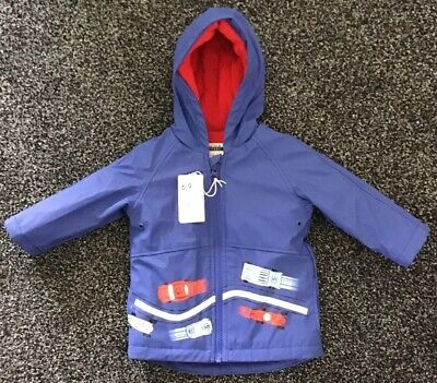 Mothercare Baby Boys Coat Age 6-9 Months New With Tags