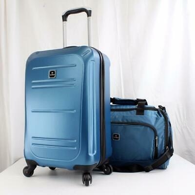 Tag Vector Ii 2 Piece Hardside Spinner Carry On Luggage Set Teal