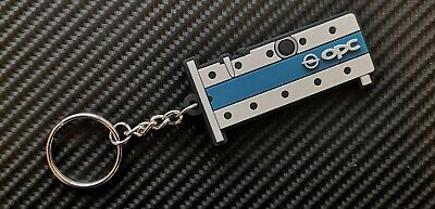 Opel OPC z20let Top Key Ring Suite Astra Nova Corsa Kadet White / Blue