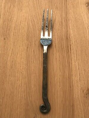 Large Antique Cast Iron Kitchen Fork